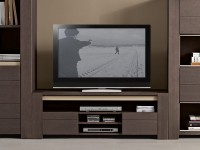 Meuble TV Helios, teinte anthracite