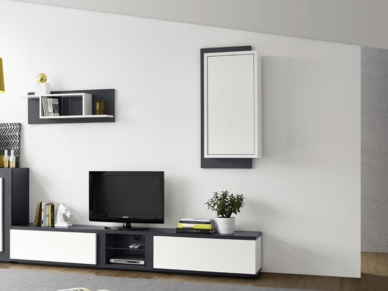 etag re murale edward en ch ne semi massif 1 porte meubles bois massif. Black Bedroom Furniture Sets. Home Design Ideas