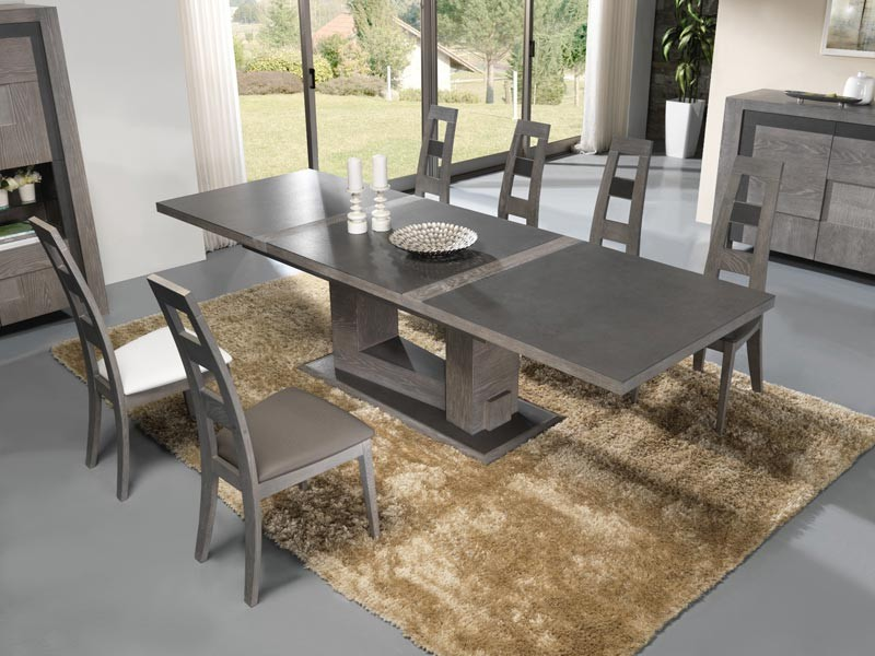 Table ceramique pas cher for Salle a manger table ceramique