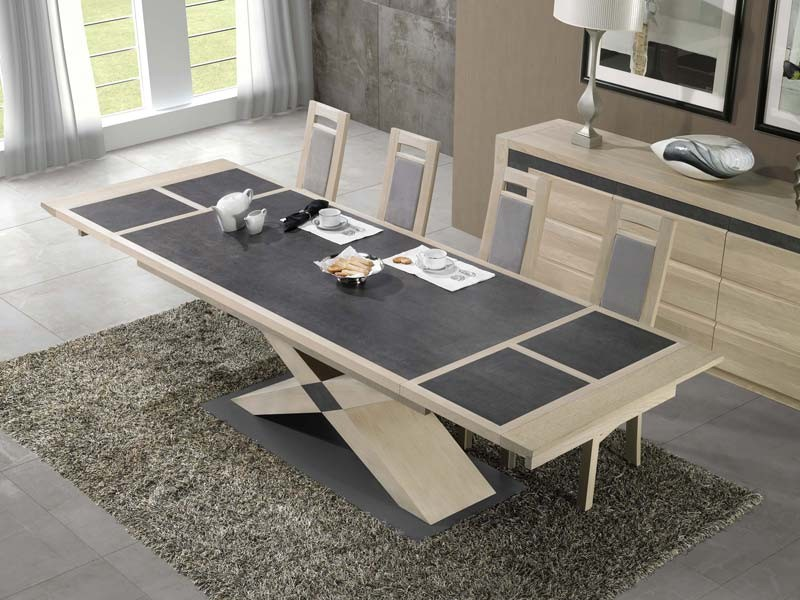 table a manger pied central 15 table manger etoile. Black Bedroom Furniture Sets. Home Design Ideas
