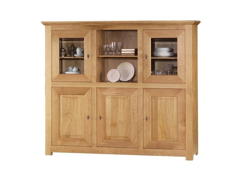 Dressoir mathilde en ch ne massif 5 portes meubles bois massif - Meuble mathilde ...