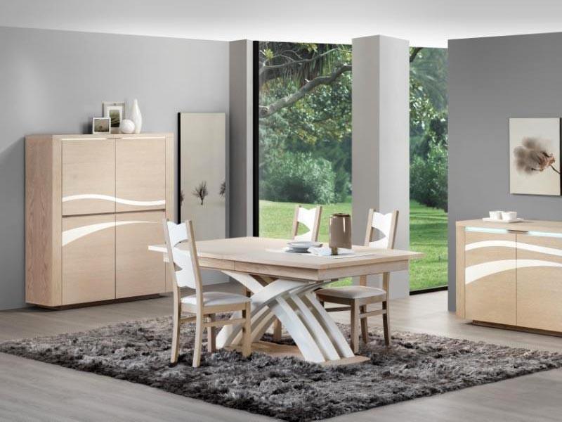 Table Manger Moderne Swift En Ch Ne Plateau Tonneau