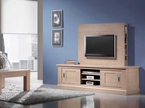 meuble TV Crête avec home plasma
