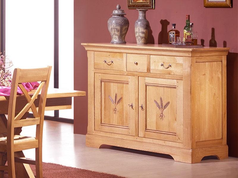 enfilade rustique en ch ne massif silver mod le 2 3 ou 4. Black Bedroom Furniture Sets. Home Design Ideas