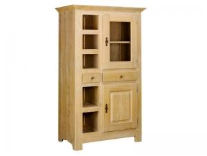 meuble pices rustique paros en ch ne massif 5 niches meubles bois massif. Black Bedroom Furniture Sets. Home Design Ideas