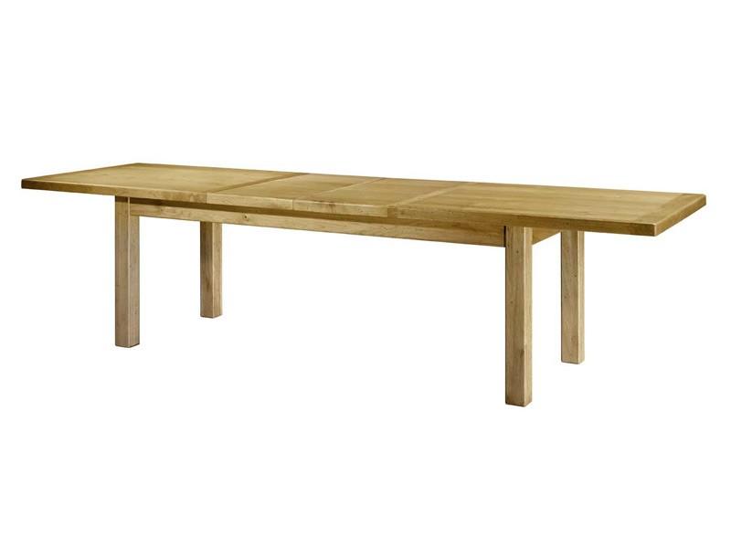 table manger rustique en ch ne paros carr ou rectangulaire avec allonges meubles bois massif. Black Bedroom Furniture Sets. Home Design Ideas