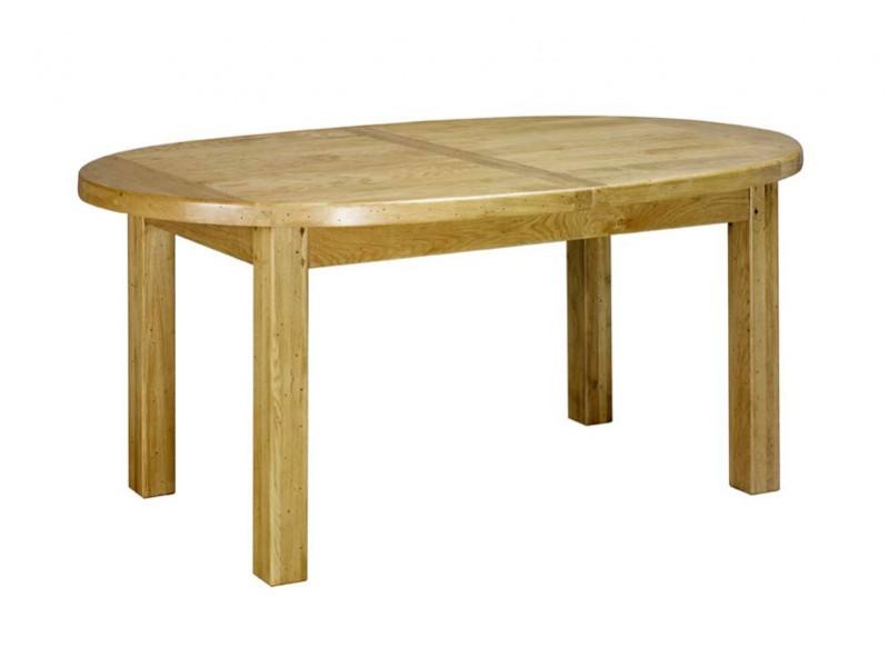 table de ferme paros ronde ou oval en chene massif avec allonges meubles bois massif. Black Bedroom Furniture Sets. Home Design Ideas
