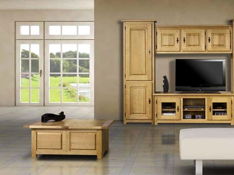 table basse bar paros avec coffrage en chene massif meubles bois massif. Black Bedroom Furniture Sets. Home Design Ideas