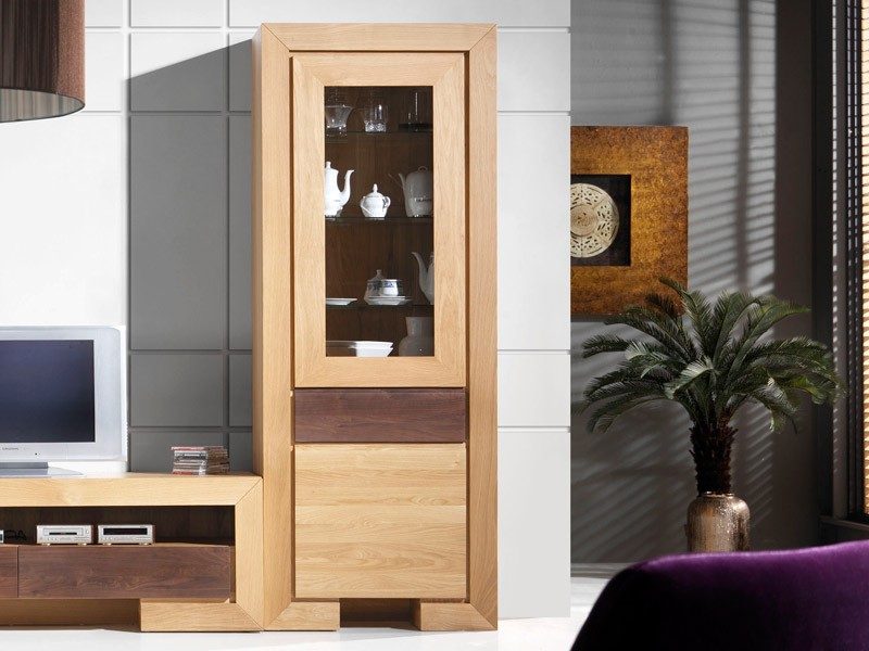 colonne contemporain ruban 2 portes meubles bois massif. Black Bedroom Furniture Sets. Home Design Ideas