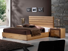 table de chevet ruban en chene massif et bois de noyer meubles bois massif. Black Bedroom Furniture Sets. Home Design Ideas