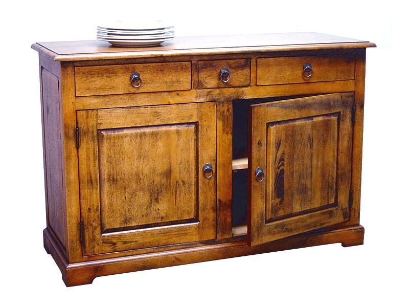 buffet bois massif contemporain buffet contemporain loft 2 portes meubles bois massif. Black Bedroom Furniture Sets. Home Design Ideas