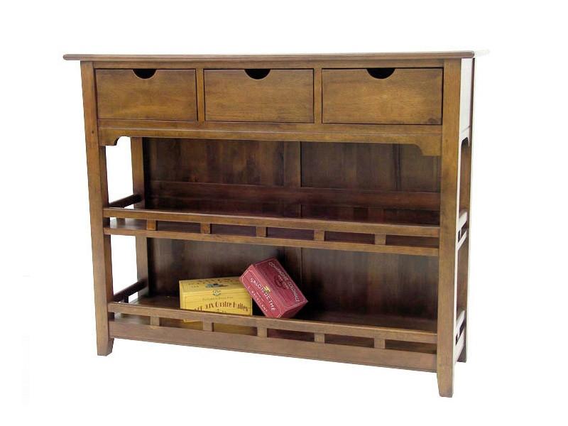 vaisselier en h v a massif m tis. Black Bedroom Furniture Sets. Home Design Ideas
