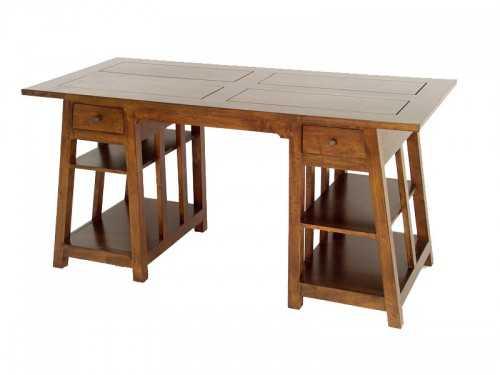 Bureau bois treteaux ikea brown good treteaux bois computer desks