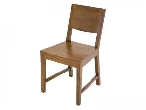 chaise oscar assise et dossier en bois de ch taignier meubles bois massif. Black Bedroom Furniture Sets. Home Design Ideas