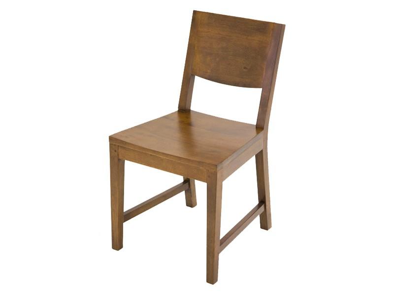 Chaise oscar assise et dossier en bois de ch taignier for Chaise bercante en bois massif