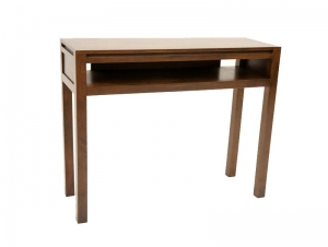console oscar en bois de ch taignier avec 1 niche meubles bois massif. Black Bedroom Furniture Sets. Home Design Ideas