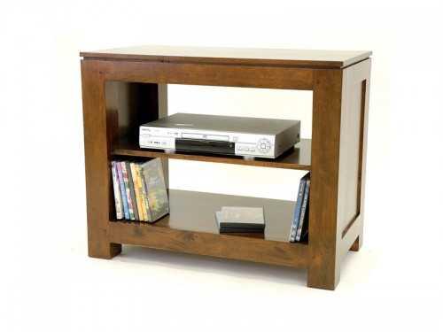 Petit meuble TV ouvert Holly 1 étag¨re Meubles Bois Massif
