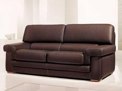 canap cancun en cuir ou tissu microfibre. Black Bedroom Furniture Sets. Home Design Ideas