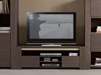 Meuble TV Helios, teinte anthracite