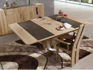 Table à manger avec allonges