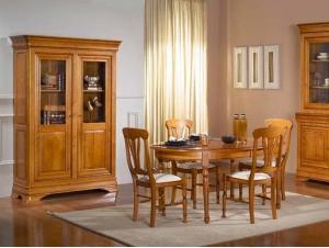salle à manger classique table ovale