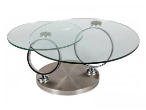 Table basse double plateau vere