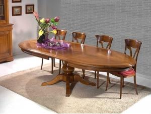Table à manger ovale
