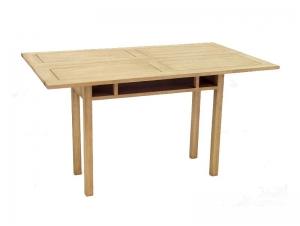 Table console, teinte naturel