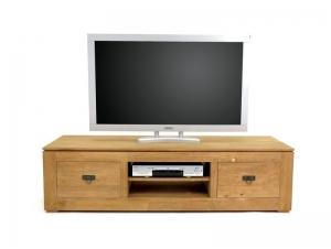 Meuble TV teinte naturel